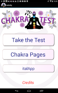 Chakra Test - heal your life - náhled