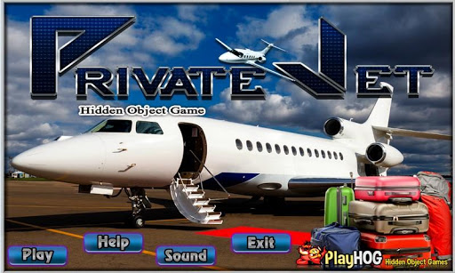 Private Jet Free Hidden Object