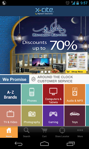 Screenshots for Xcite by Alghanim Electronics for Android