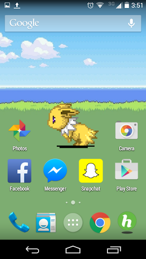 【免費個人化App】Jolteon Live Wallpaper-APP點子