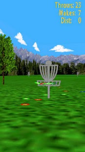 Droid Disc Golf Lite - screenshot thumbnail