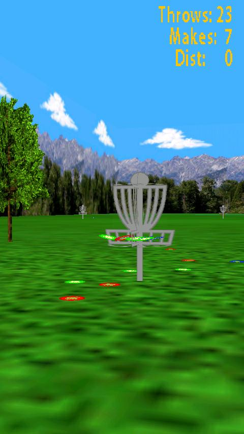 Droid Disc Golf Lite- screenshot