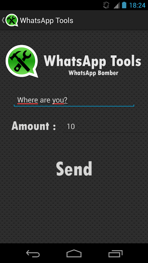 W-Tools (hide last seen) - screenshot