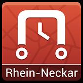nextstop Rhein-Neckar Fahrplan
