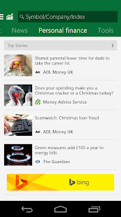 Msn Money Stock Quotes Prepossessing Msn Money  Stock Quotes  Android Apps On Google Play