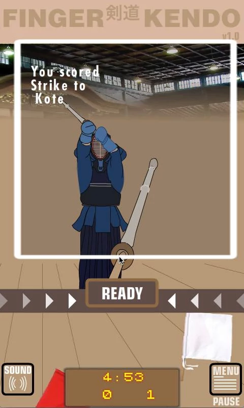 Finger Kendo- screenshot