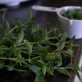 Garden Goodness- Freezeable Pesto Recipe