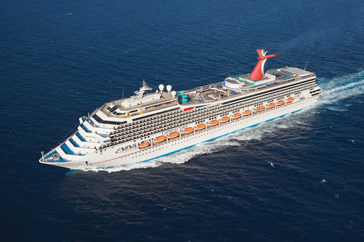 Carnival-Valor-at-sea - Carnival Valor features places for sports, relaxation, exhilaration, dining, conversation, entertainment, dancing and more.