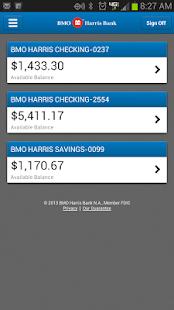 BMO Harris Mobile Banking - screenshot thumbnail