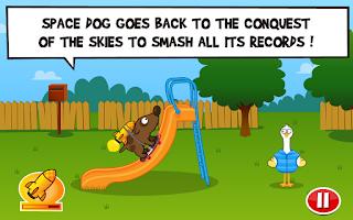 Screenshot of Space Dog + | Facebook Game