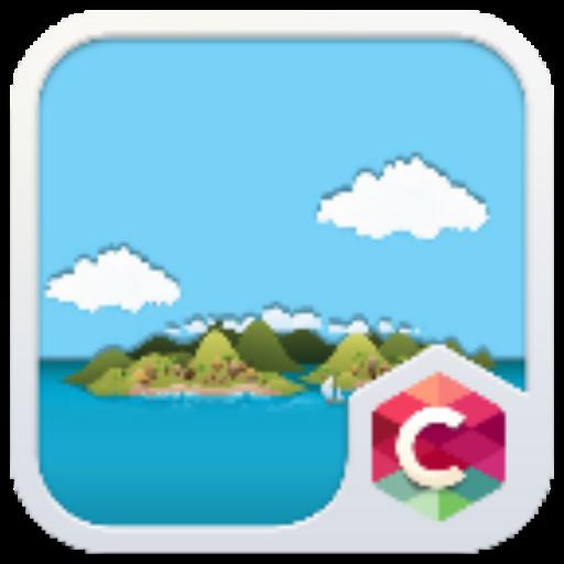 Island C Launcher Theme LOGO-APP點子