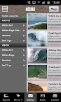 Screenshot of Lacanau Surf Info