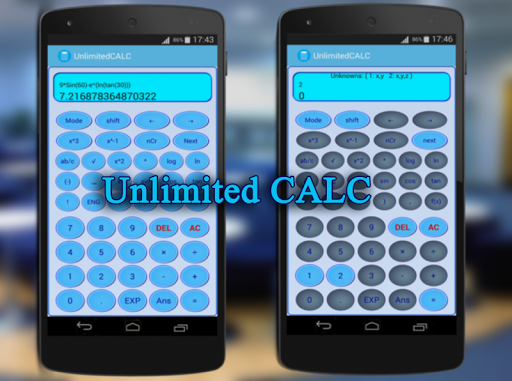 Calculatrice +widget free