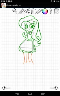 Learn to Draw Equestria Girls APK baixar