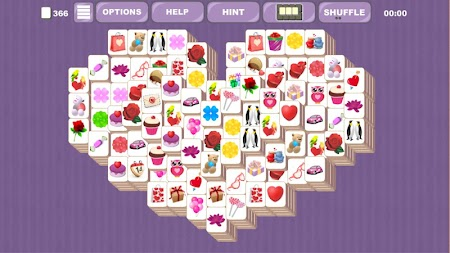 Valentine's Mahjong Tiles APK screenshot thumbnail 16