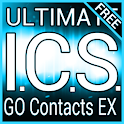 Blue ICS GO Contacts Theme logo