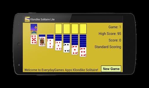Klondike with Leaderboards