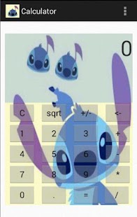 Stitch's Calculator