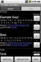 Screenshot of +1 Table Top Helper Free