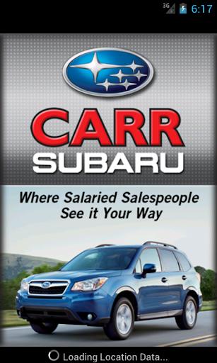 Carr Subaru DealerApp