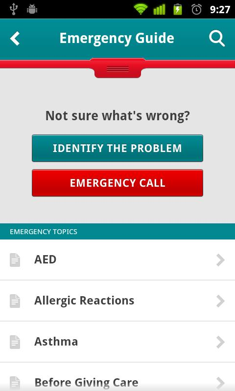 S.O.S. by American Red Cross- screenshot