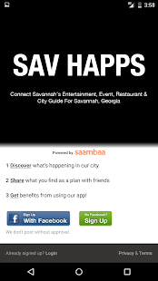 SAV HAPPS - Savannah Events- screenshot thumbnail