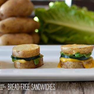 Bread Free Potato Sandwiches