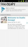 Screenshot of Studio Occupy
