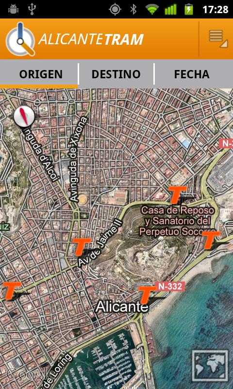 Alicante Tram - screenshot
