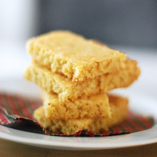 Lime Cornmeal Shortbread