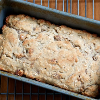 Yeasted Oatmeal Quickbread with Walnuts