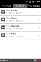 Screenshot of CheckMyTour