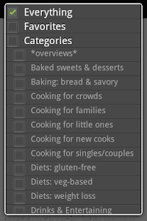 Cookbook Finder - screenshot thumbnail