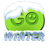 Winter theme Go SMS Pro