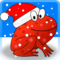 Christmas Frogs 3D icon