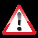 Razmere na cestah logo