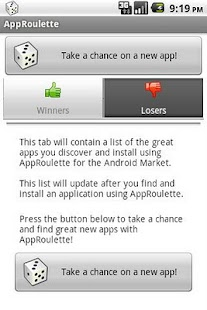 AppRoulette - screenshot thumbnail