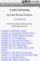 Screenshot of Works of Frank R. Stockton