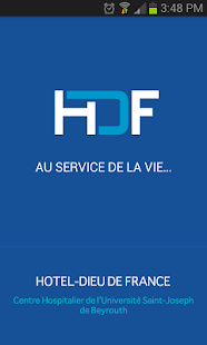 Hotel Dieu de France Hospital screenshot for Android