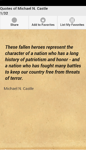 Quotes of Michael N. Castle