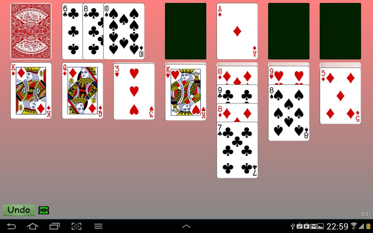 solitaire 3 card klondike solitaire