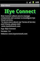 Screenshot of IEye Connect