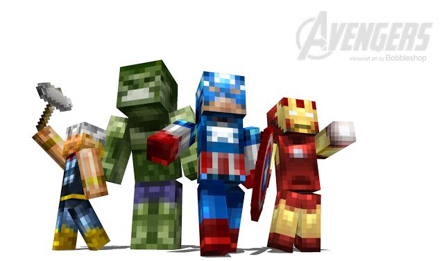 Skin Avengers For Minecraft