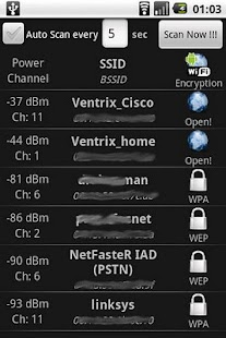 WiFi Scanner- screenshot thumbnail