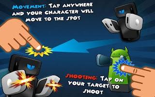 Screenshot of Phone Wars