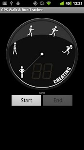 GPS Walk and Run Tracker - screenshot thumbnail
