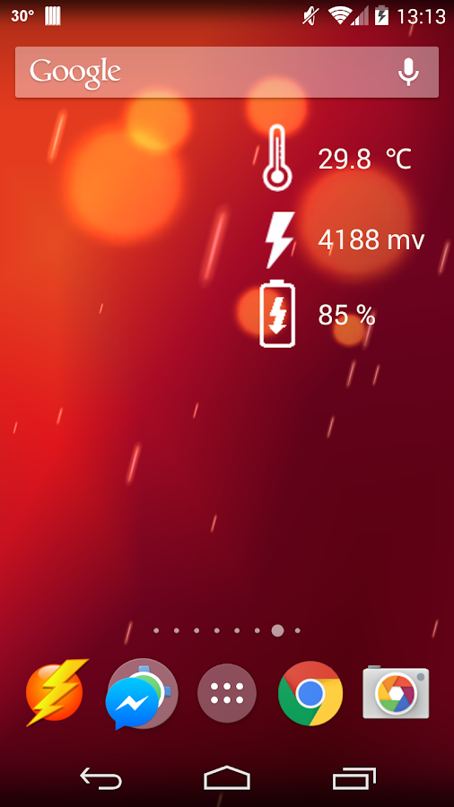 Battery Temperature Guard free - screenshot
