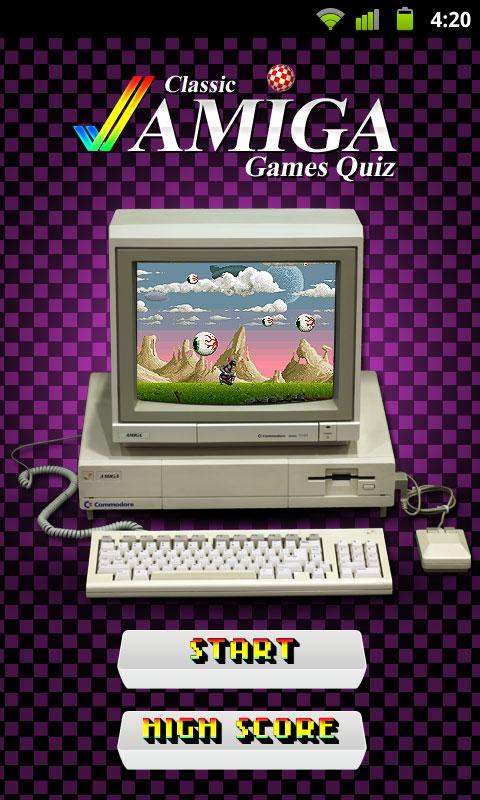 Amiga Games Quiz - screenshot
