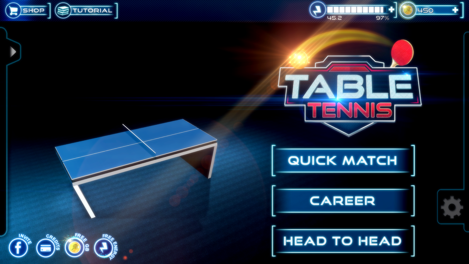 Table Tennis 3D Live Ping Pong- screenshot