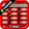 GOContacts theme CHRISTMAS icon